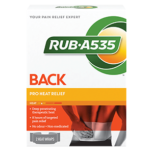 RUB·A535™ Pro Heat Relief Wraps
