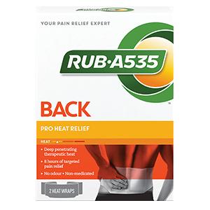 RUB·A535™ Pro Heat Relief Wraps