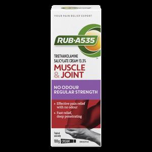 RUB·A535™ Muscle & Joint No Odour Regular Strength Cream