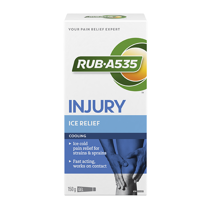 RUB·A535<sup>TM</sup> Injury Ice Relief Gel