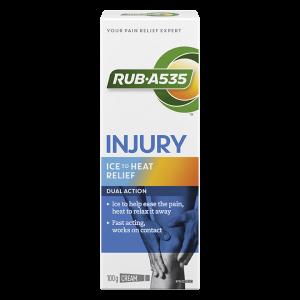 RUB·A535™ Injury Ice to Heat Relief Cream