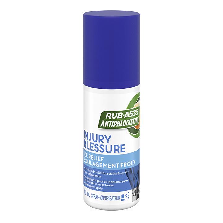 RUB·A535<sup>TM</sup> Injury Ice Relief Spray