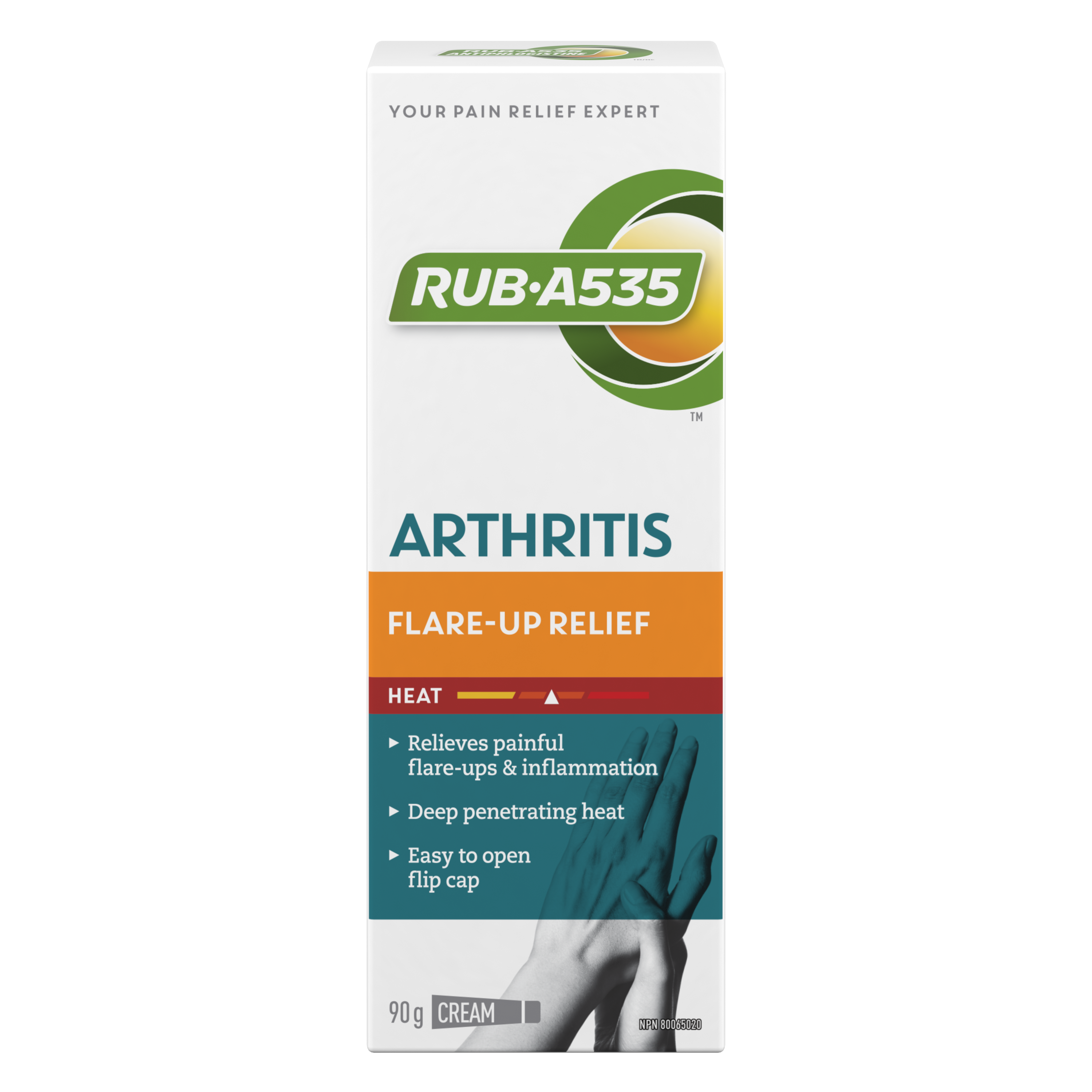 RUB·A535<sup>TM</sup> Arthritis Flare-Up Relief Cream