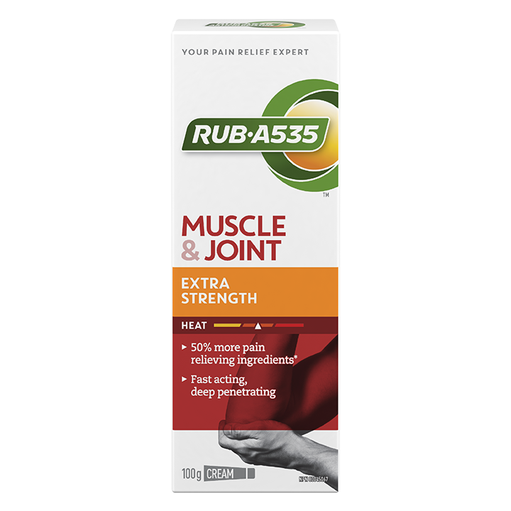 RUB·A535<sup>TM</sup> Muscle & Joint Extra Strength Heat Cream