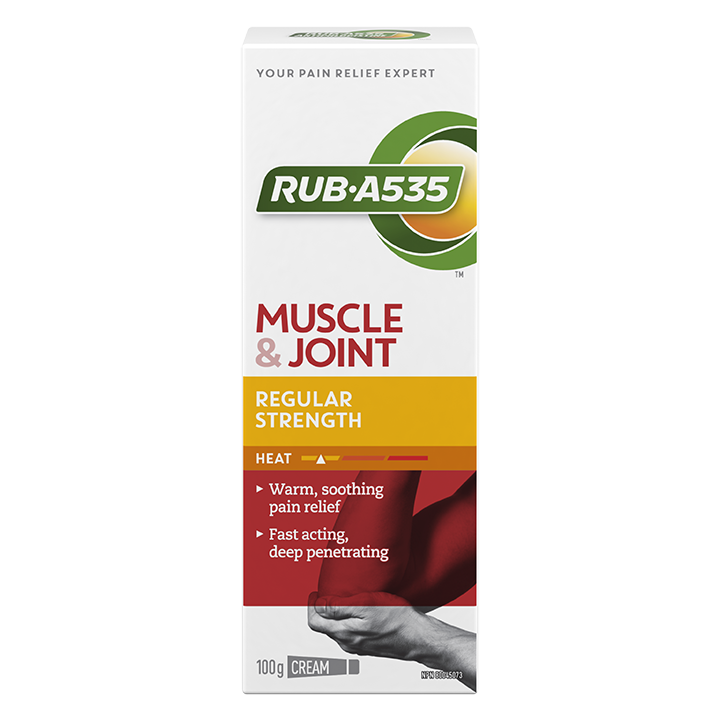 RUB·A535<sup>TM</sup> Muscle & Joint Regular Strength Heat Cream