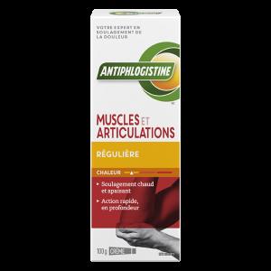 Crème chaleur régulière muscles et articulations AntiphlogistineMC