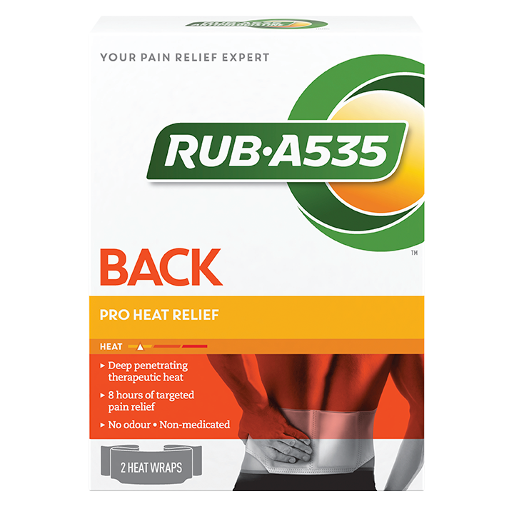 RUB·A535<sup>TM</sup> Pro Heat Relief Wraps