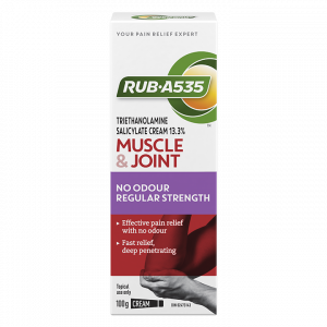 RUB·A535™ Muscle & Joint No Odour Regular Strength Cream
