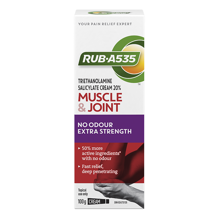 RUB·A535<sup>TM</sup> Muscle & Joint No Odour Extra Strength Cream