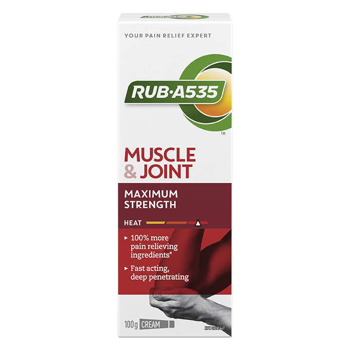 RUB·A535<sup>TM</sup> Muscle & Joint Maximum Strength Heat Cream