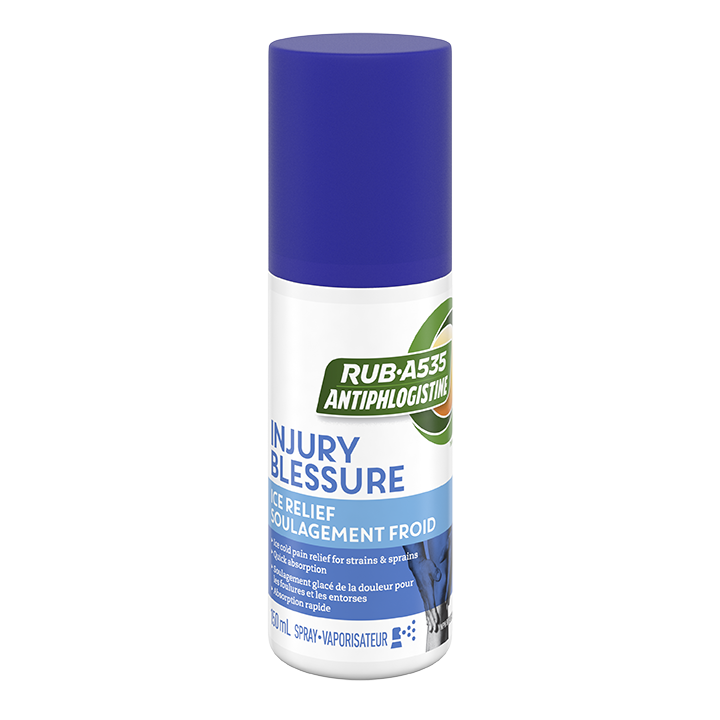 RUB·A535<sup>TM</sup> Injury Ice Relief Spray